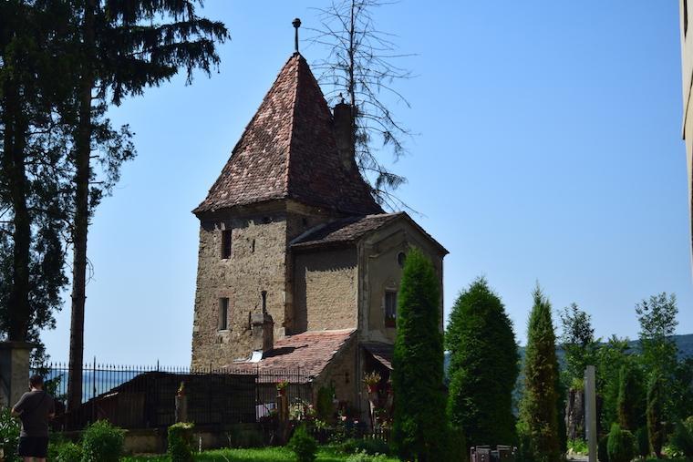 sighisoara vlad tepes transilvania romenia torre coveiro