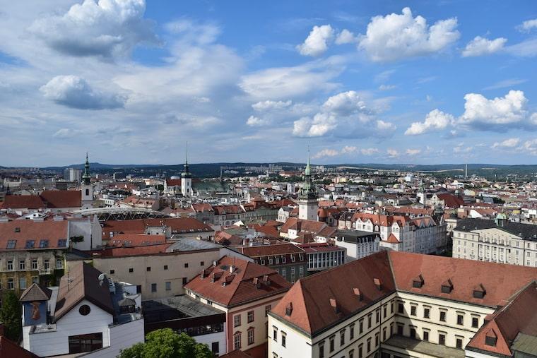 turismo em brno república tcheca vista cidade