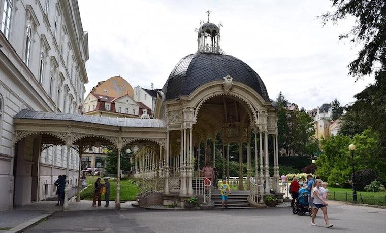 turismo karlovy vary república Tcheca gazebo