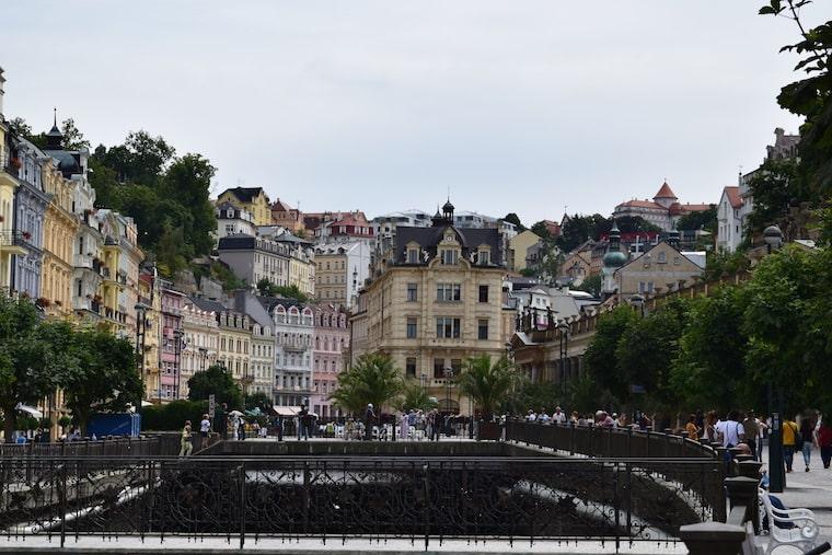 turismo karlovy vary república Tcheca geral cidade