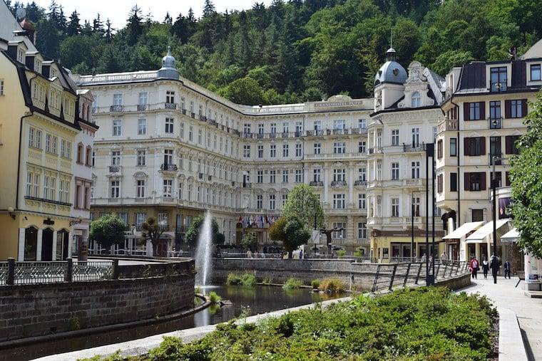 turismo karlovy vary república Tcheca hotel pupp