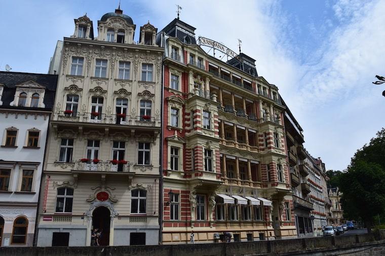 turismo karlovy vary república Tcheca predios
