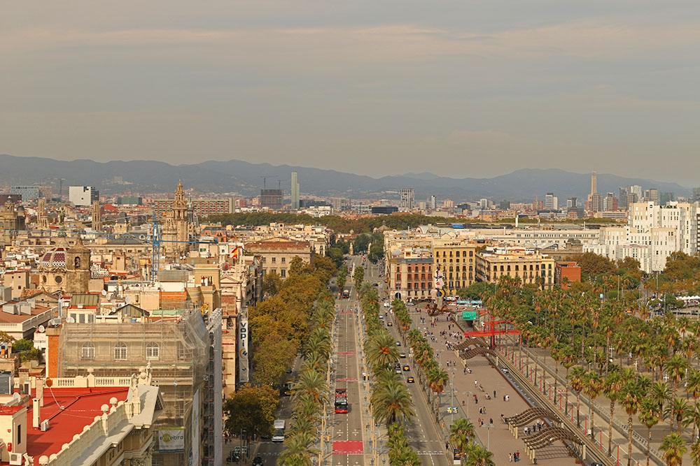 Vistas em Barcelona