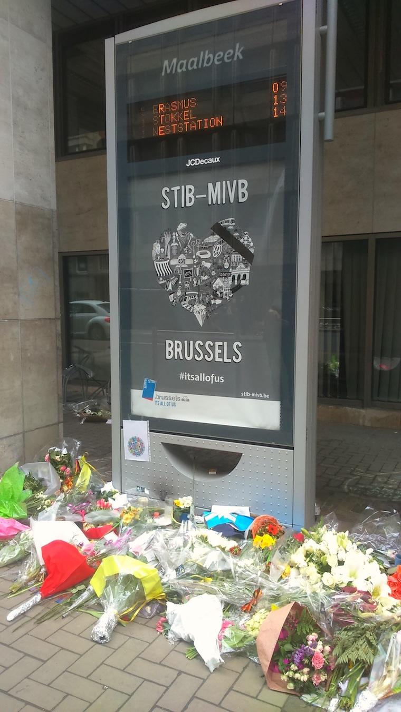 atentados em bruxelas estação maalbeek