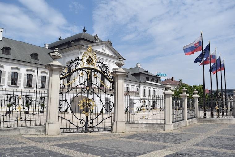 bratislava eslováquia curiosidades presidência