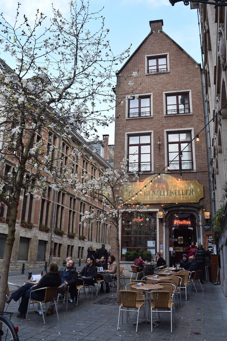 bruxelas bélgica pub cafe