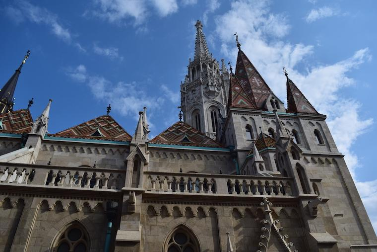castelo de buda budapeste hungria igreja matias