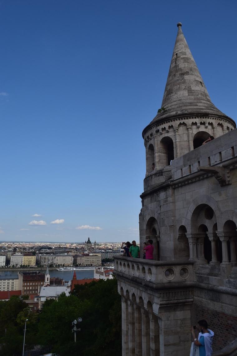 castelo de buda budapeste hungria torre bastião
