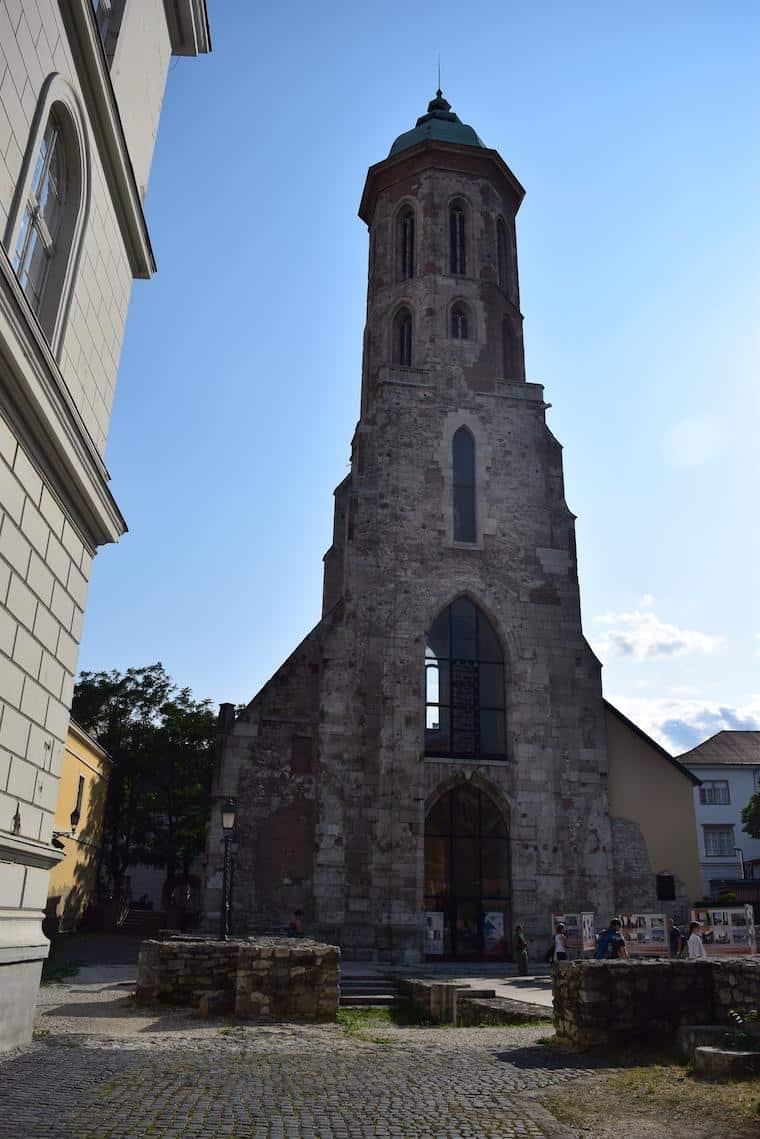 castelo de buda budapeste hungria torre