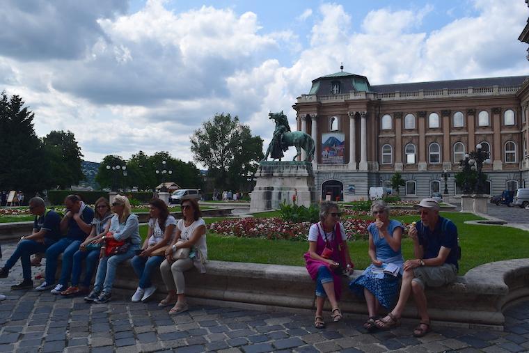 castelo de buda budapeste hungria turistas