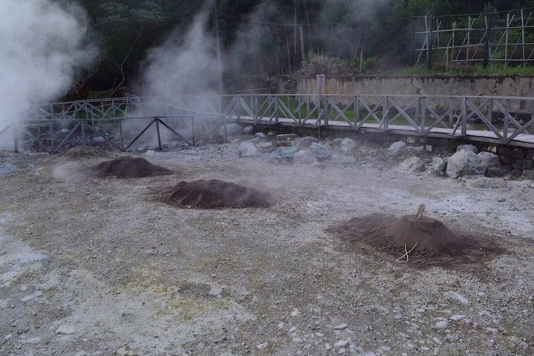 cozido dos açores na caldeira de furnas