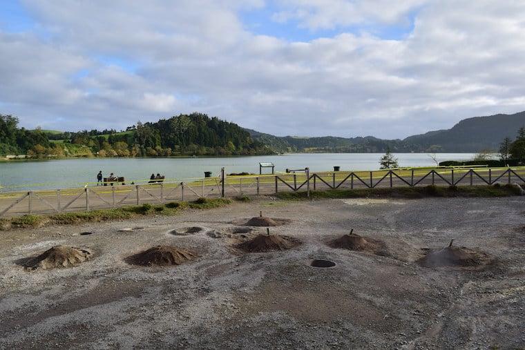 lagoa de furnas caldeira e cozidos açores