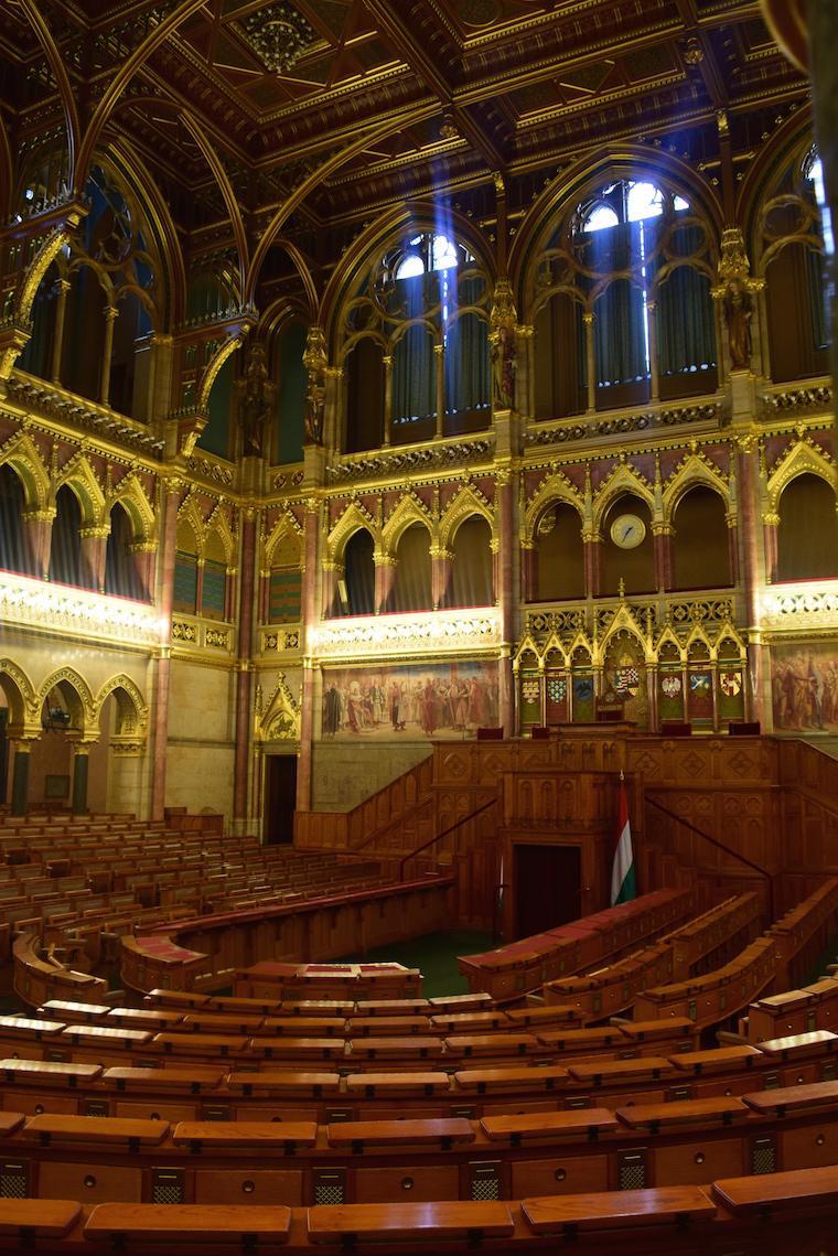 parlamento de budapeste sala antiga