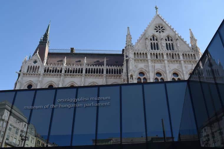 parlamento de budapeste visitor center