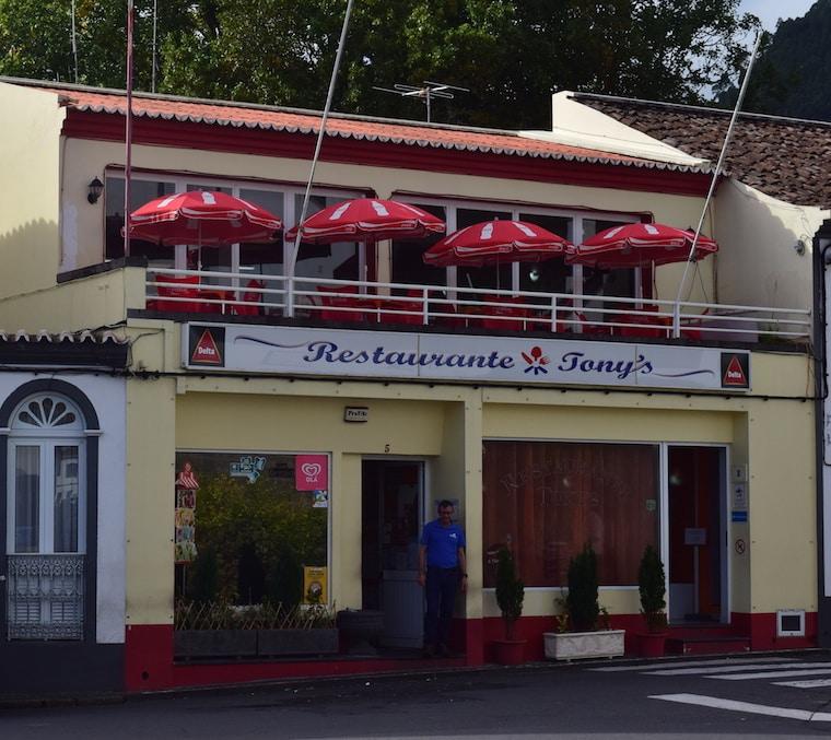 restaurante tonys açores