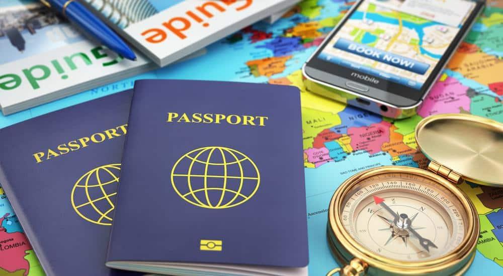 Checklist de organização para viagem internacional