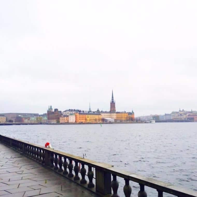 Vista para Gamla Stan Estocolmo Suécia