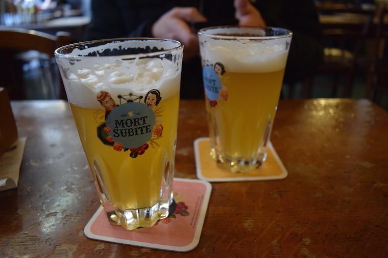 cerveja belga bares bruxelas bélgica a la mort subt