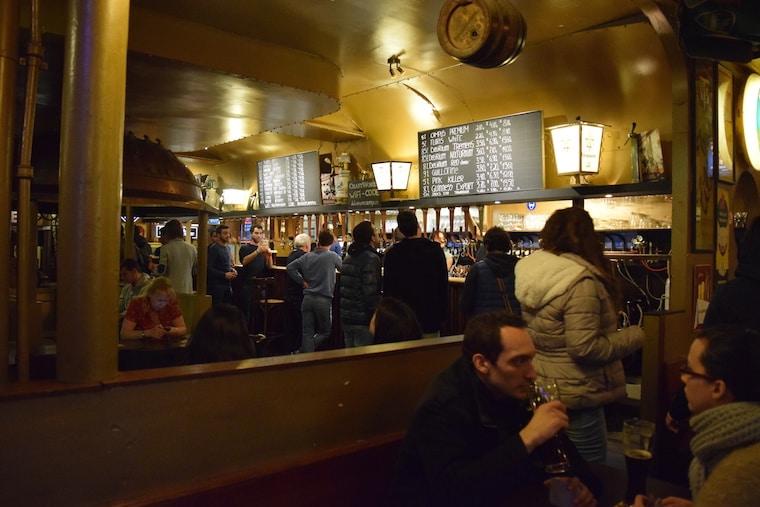 cerveja belga bares bruxelas bélgica delirium