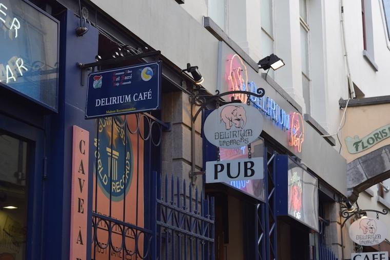 cerveja belga bares bruxelas bélgica fachada