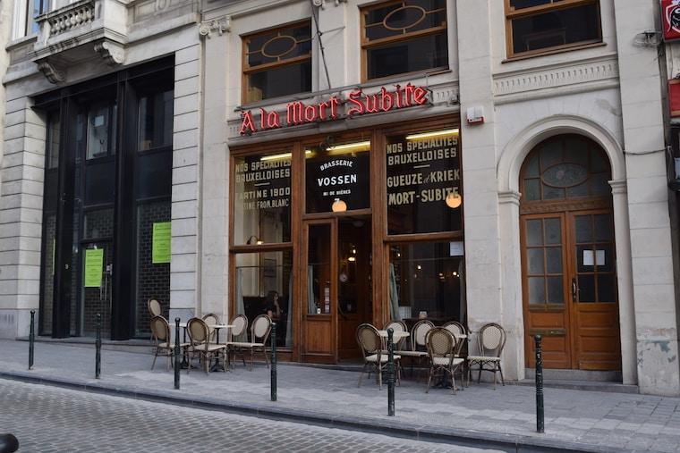 cerveja belga bares bruxelas bélgica mort subte