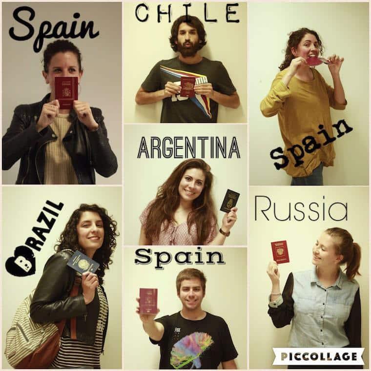 Grupo de bitácora de Jornalismo de Viagens da UAB