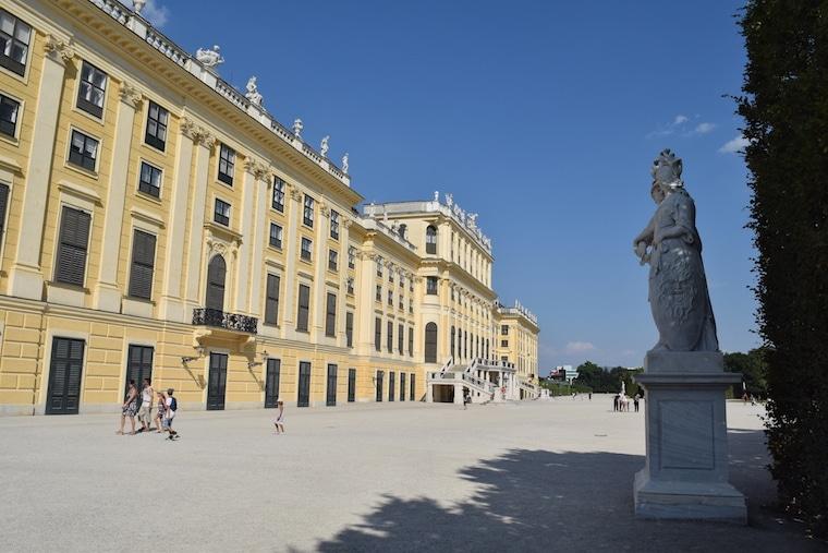 museus em viena palácio de schonnbrunn
