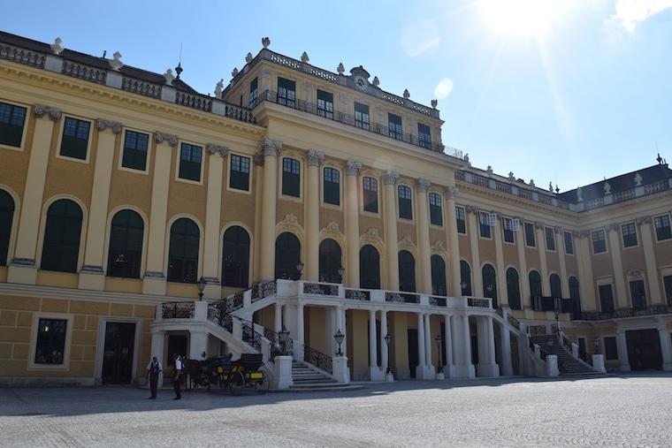 museus em viena palácio de verão