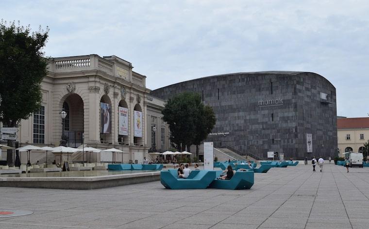 museus em viena quarteirão dos museus