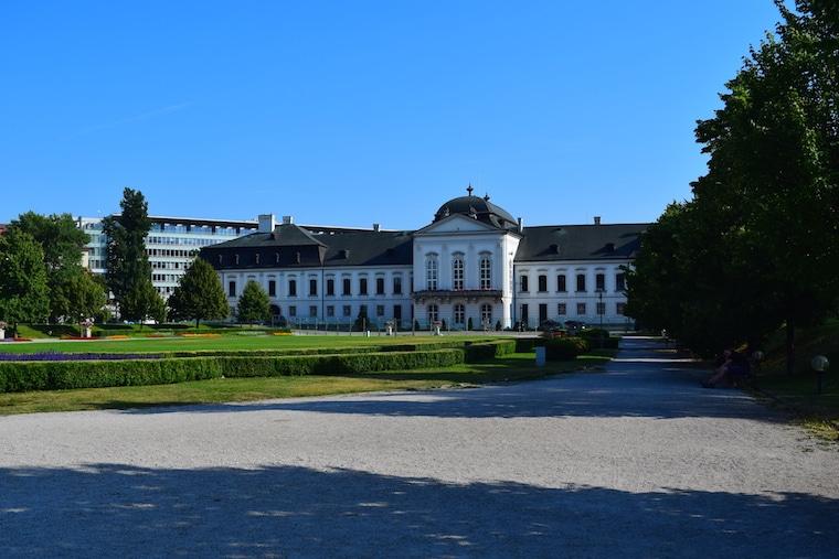 o que fazer em bratislava jardins do palácio
