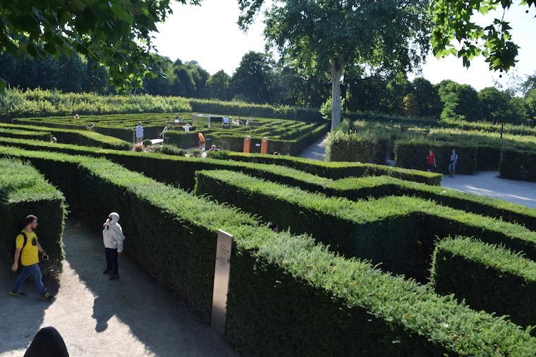o que fazer em viena maze labirintos