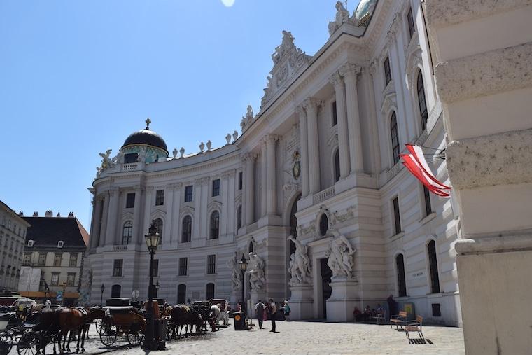 palácio imperial viena