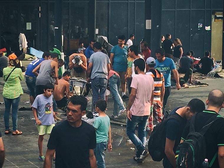 budapeste crise dos refugiados