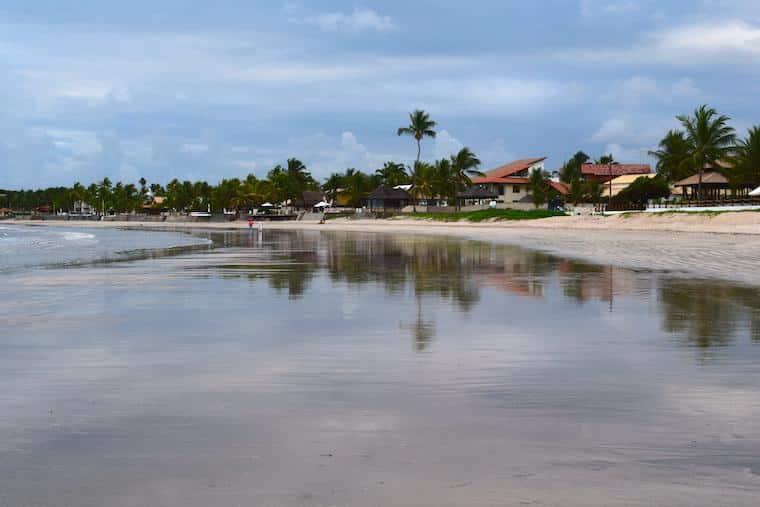 Enseadinha praias de pernambuco brasil