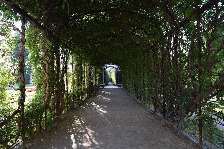 Palácios Imperiais de Viena gazebo