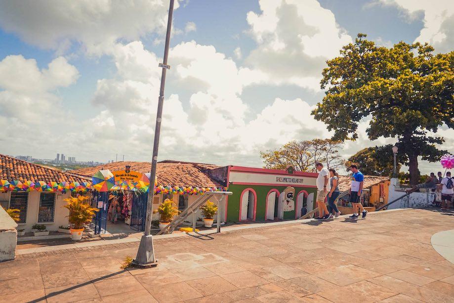 O que fazer em Olinda: Alto da Sé e o mirante da caixa d'agua