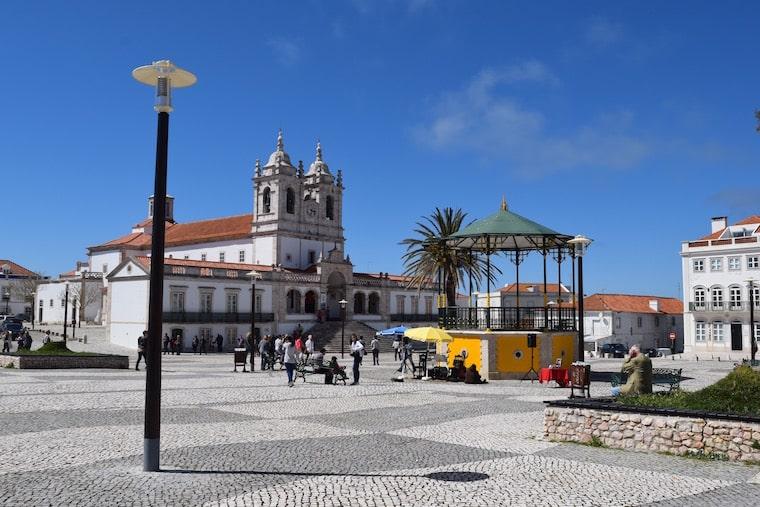 praça nazaré portugal