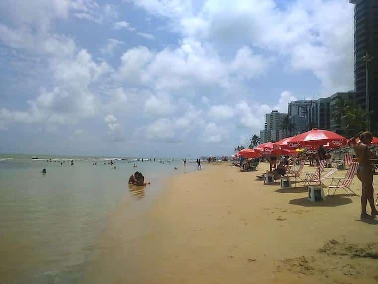 praias de pernambuco brasil boa viagem
