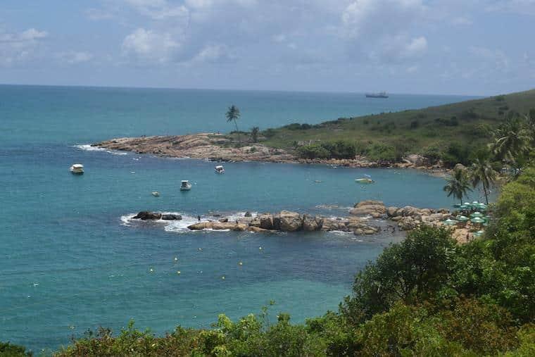 praias de pernambuco brasil calhetas