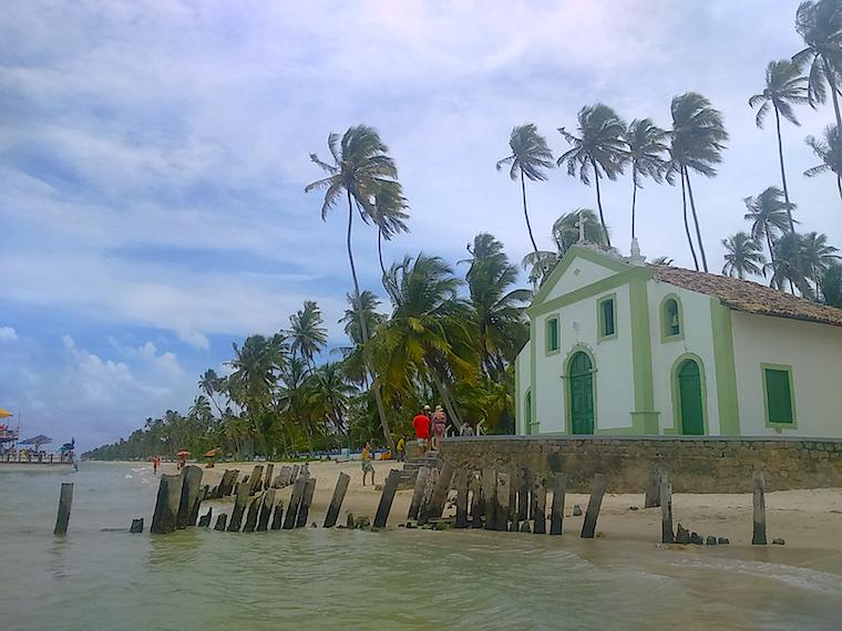 praias de pernambuco brasil igreja carneiros