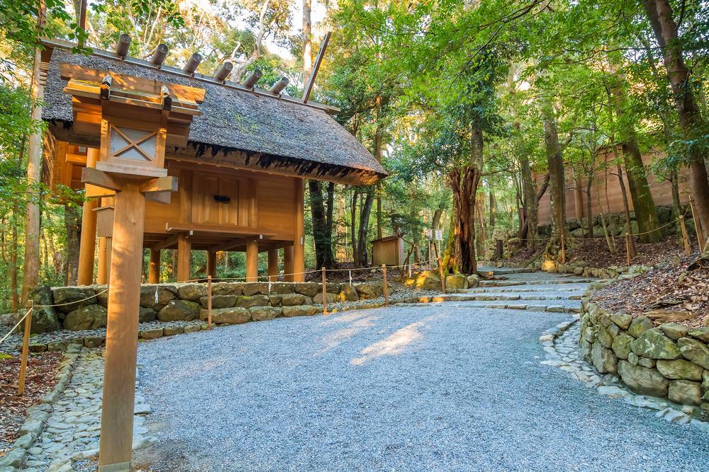 Santuario de Ise, Japão