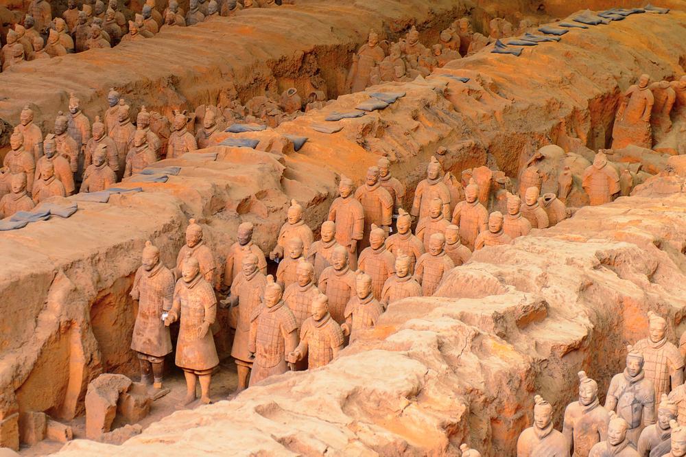 Tumba Qin Shi Huang - China