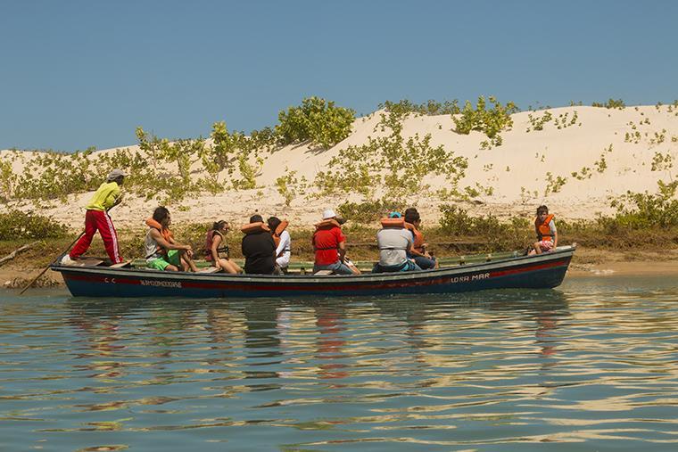Jericoacoara, Ceará passeio de barco