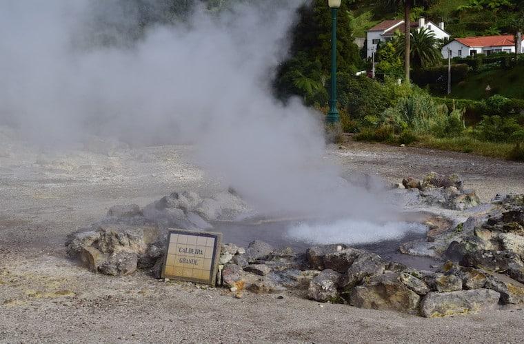 lagoa de furnas açores caldeira grande