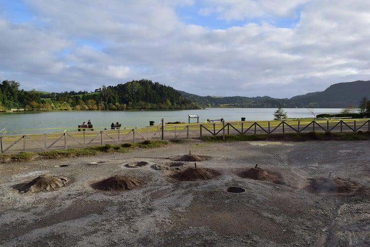 lagoa de furnas açores cozido