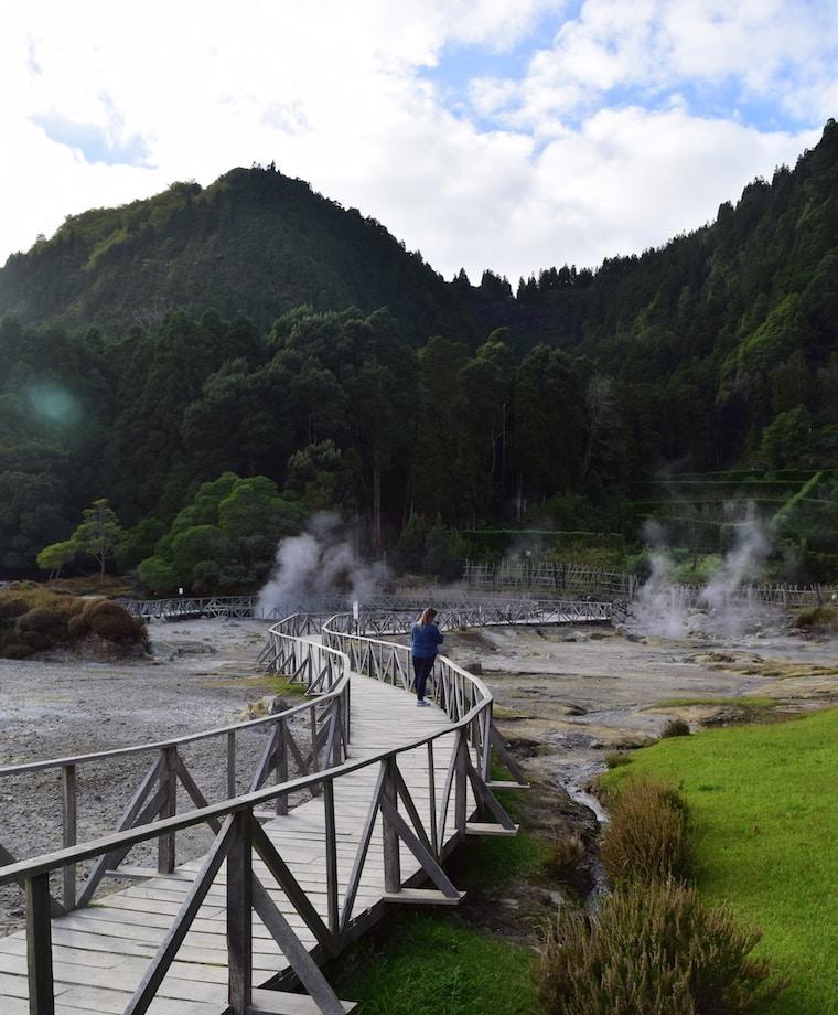 lagoa de furnas açores vulcão