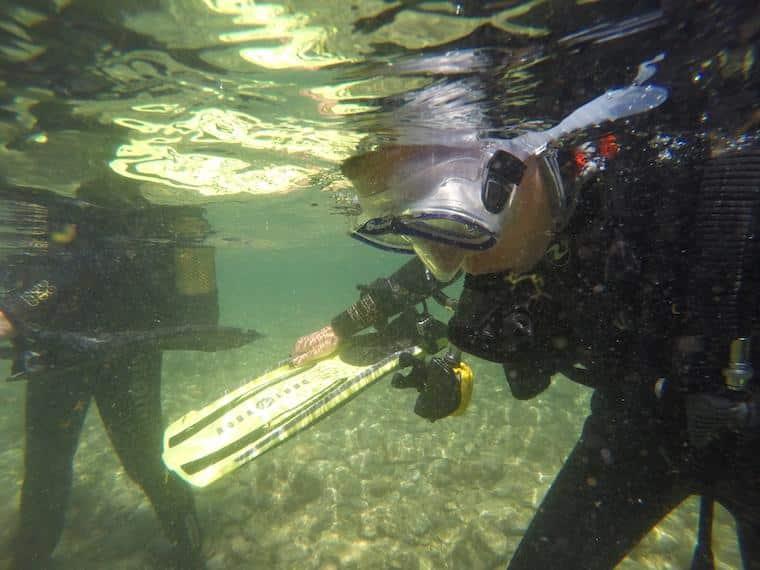 Mergulho na Costa Brava