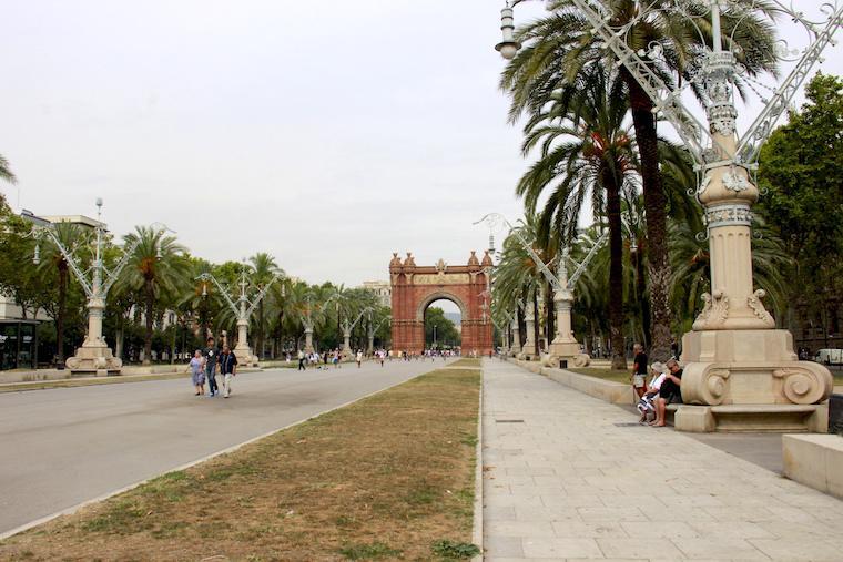 Parc de la ciudadella - barcelona