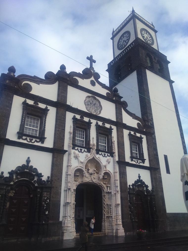 ponta delgada açores igreja