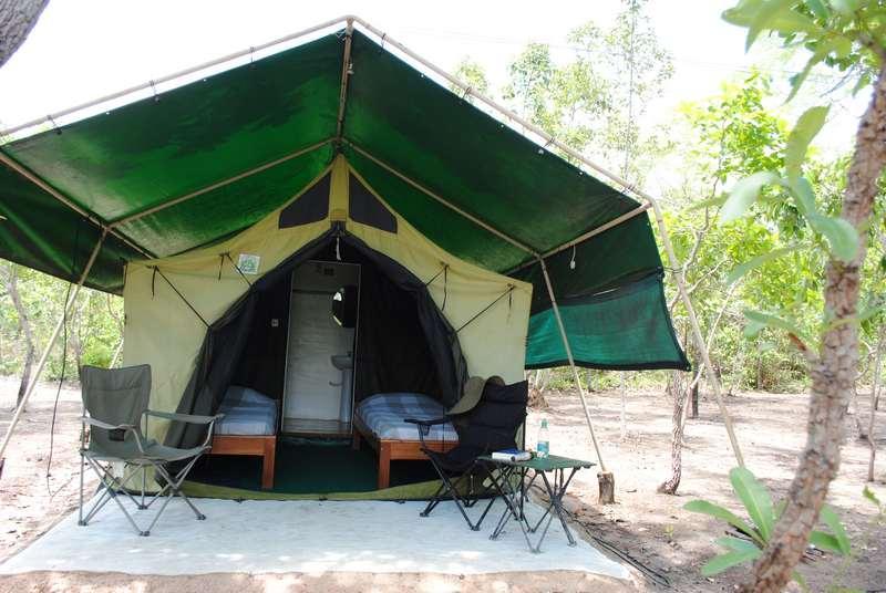 Acampamento Korubo no Jalapão
